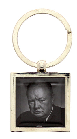 Winston Churchill Keyring