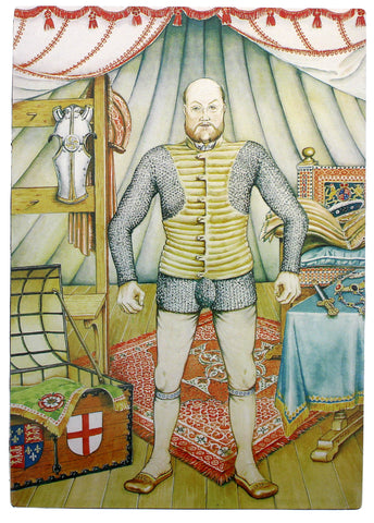 Henry VIII Magnetic Armour Dress-Up Set