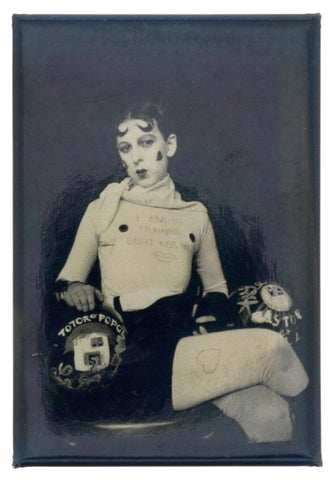 Claude Cahun Self-portrait Fridge Magnet