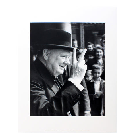 Winston Churchill Mini Print