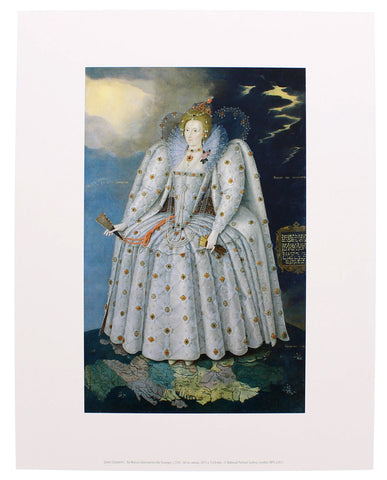 Elizabeth I ('The Ditchley portrait') Mini-print