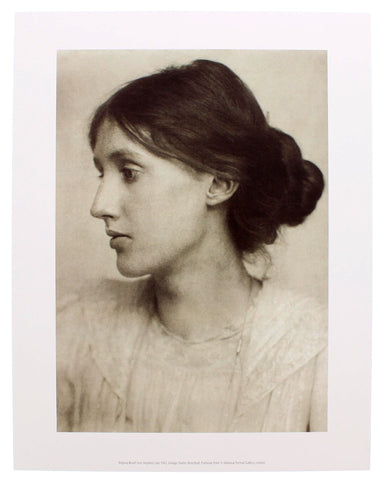 Virginia Woolf by George Charles Beresford Mini-print