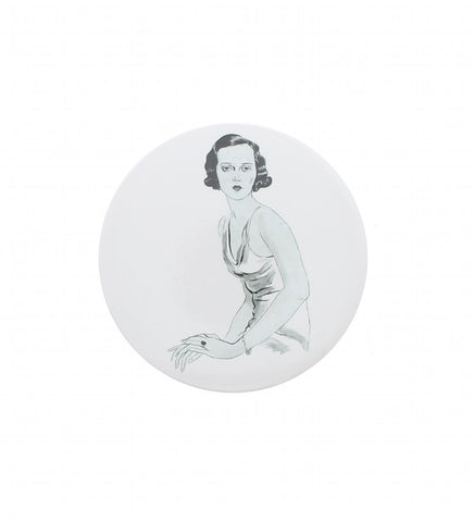 Lady Milbanke Pocket Mirror