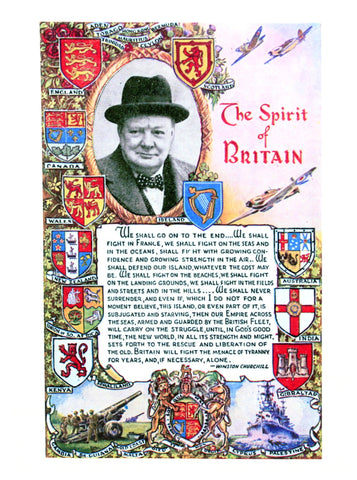The Spirit of Britain Lens Cloth