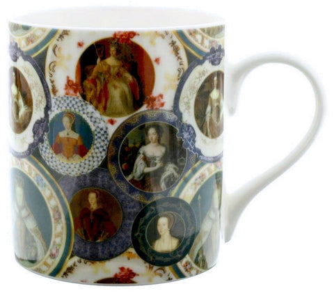 Queens of England Mug
