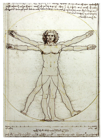 Vitruvian Man Notebook