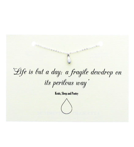 Keats Dewdrop Necklace