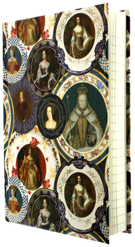 Queens of England Notebook