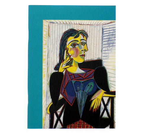 Portrait de Dora Maar Lined Notebook