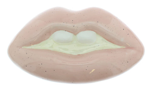 Lips Ceramic Storage Box