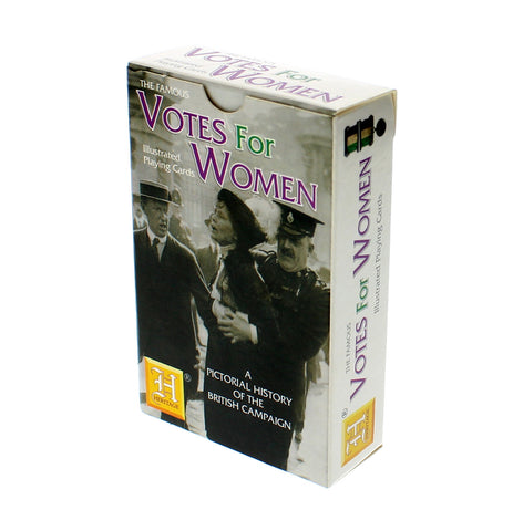 Votes for Women Illustrated Playing Cards