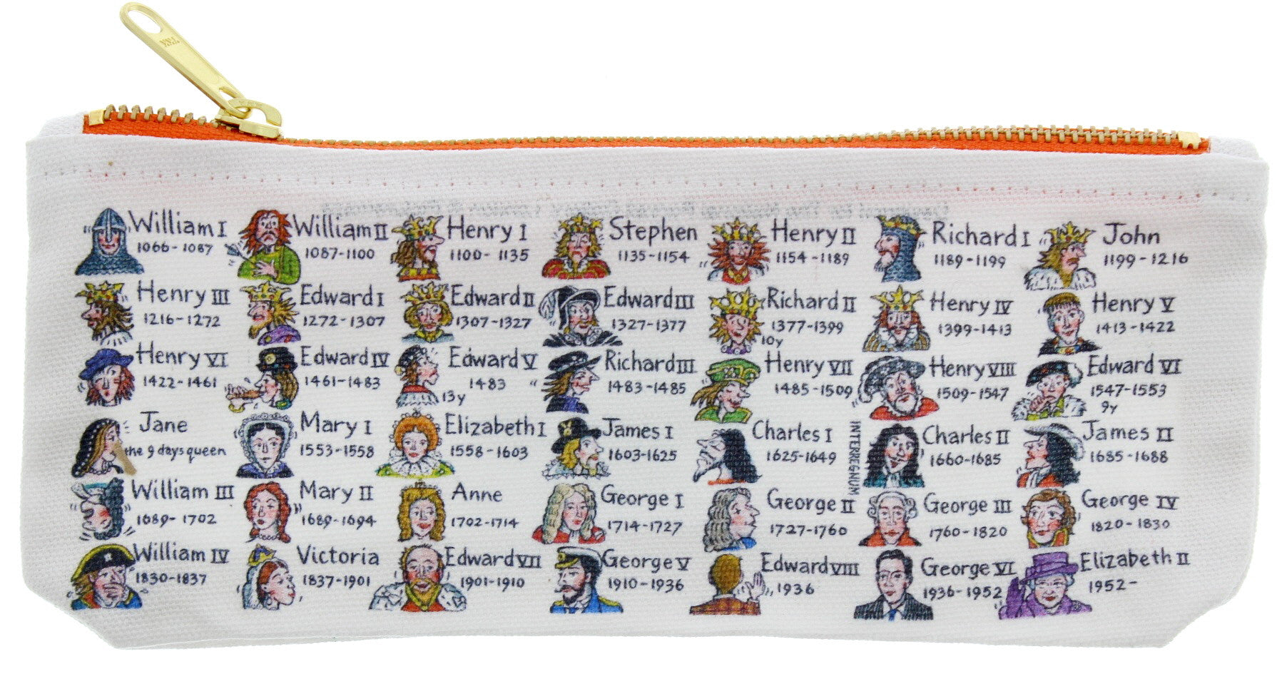 Kings and Queens Pencil Case