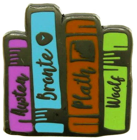 Literature Ladies Pin Badge
