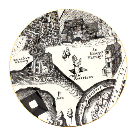 Grayson Perry 'A Map of Days' Plate 'Public Relations'