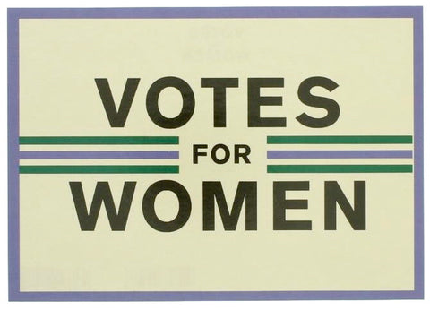Votes for Women Postcard