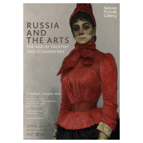 Russia and the Arts Exhibition Poster