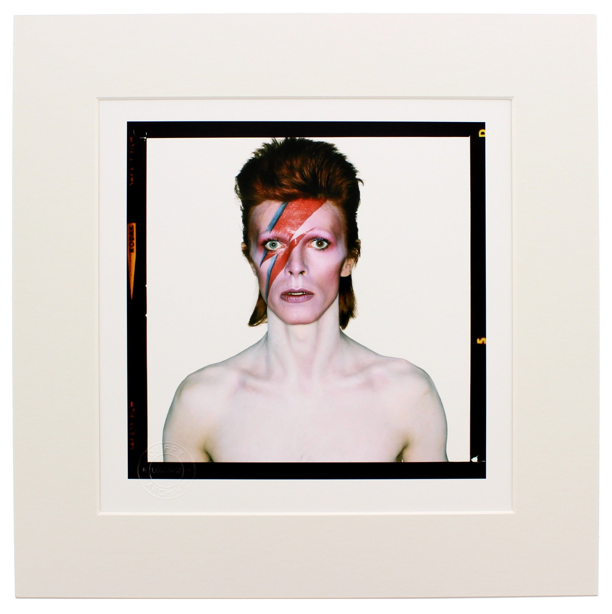 Aladdin Sane, 1973 'Eyes Open' Brian Duffy Archive Mounted Print