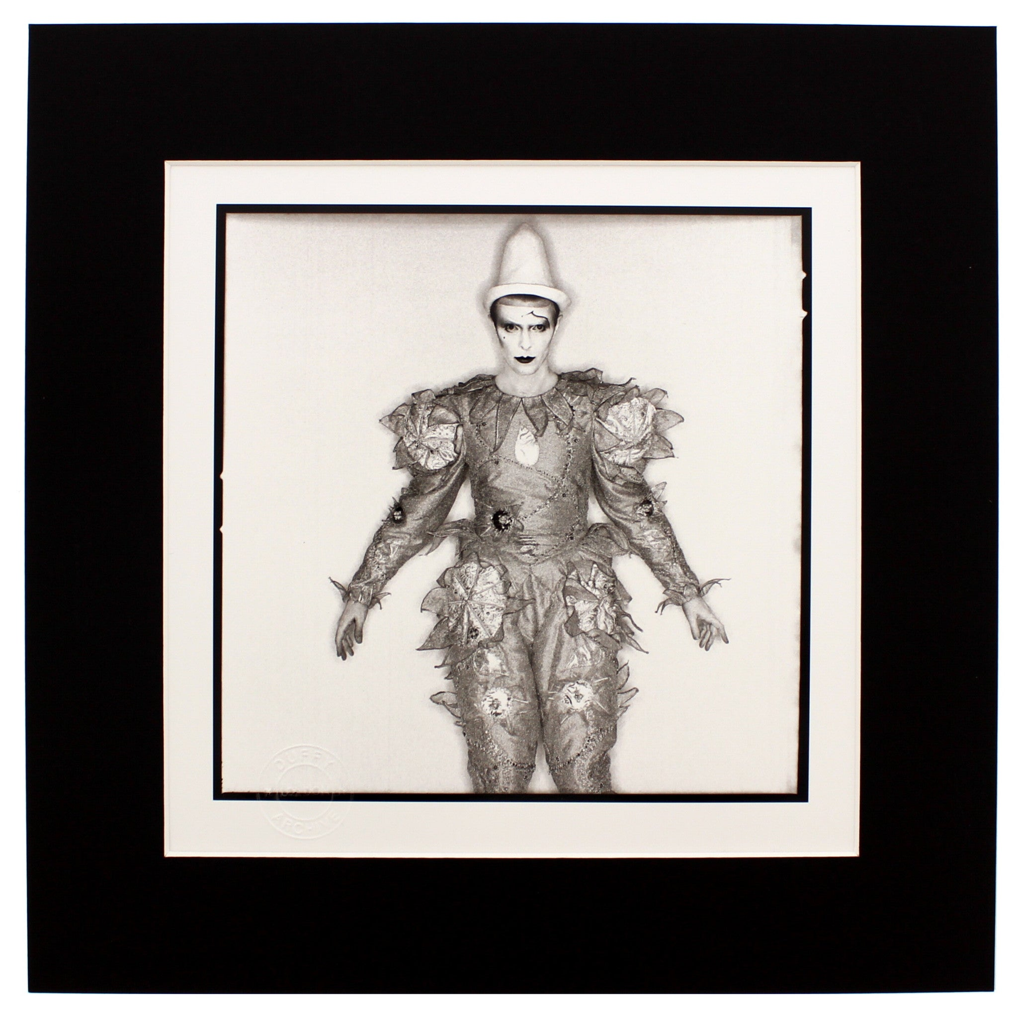 Scary Monsters, 1980 Brian Duffy Archive Mounted Print in Black Wood Frame