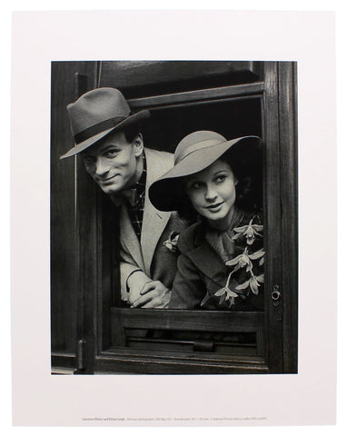 Laurence Olivier and Vivien Leigh Mini-print