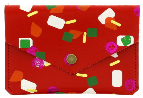 Red Tutti Frutti Popper Purse