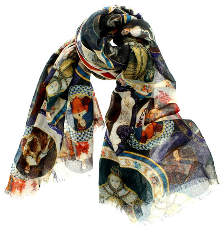 Queens of England Scarf