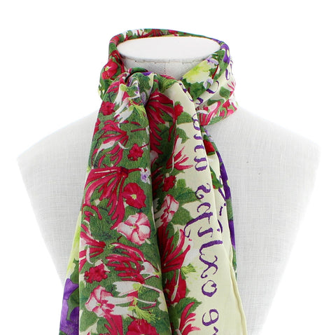 Shakespeare's Flowers Scarf