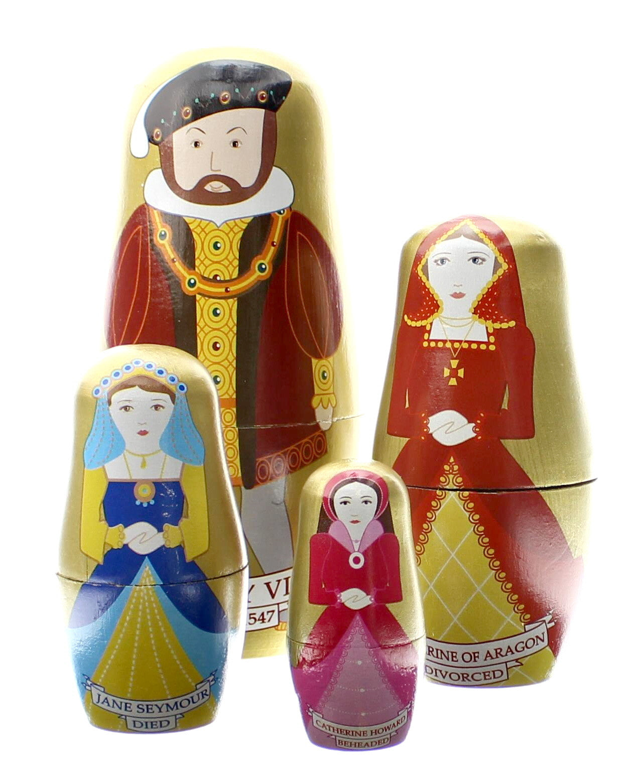 Tudor Stacking Dolls