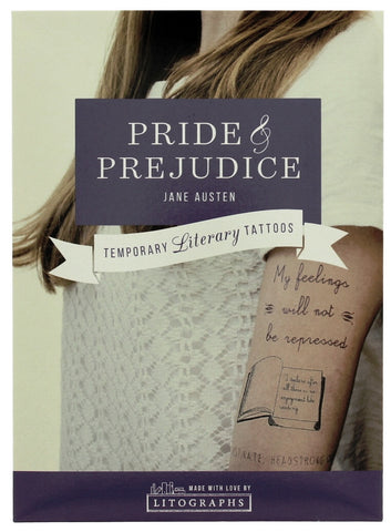 Jane Austen Literary Tattoos