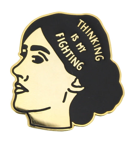 Virginia Woolf Lapel Pin