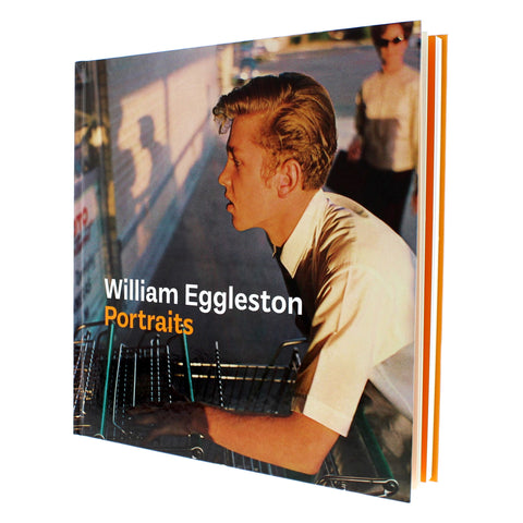 William Eggleston Portraits Catalogue Hardcover  Signed
