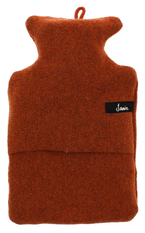 Knitted Merino Wool Hot Water Bottle