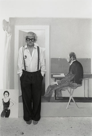 David Hockney NPG x126191 Portrait Print
