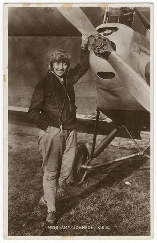 Amy Johnson NPG x126240 Portrait Print