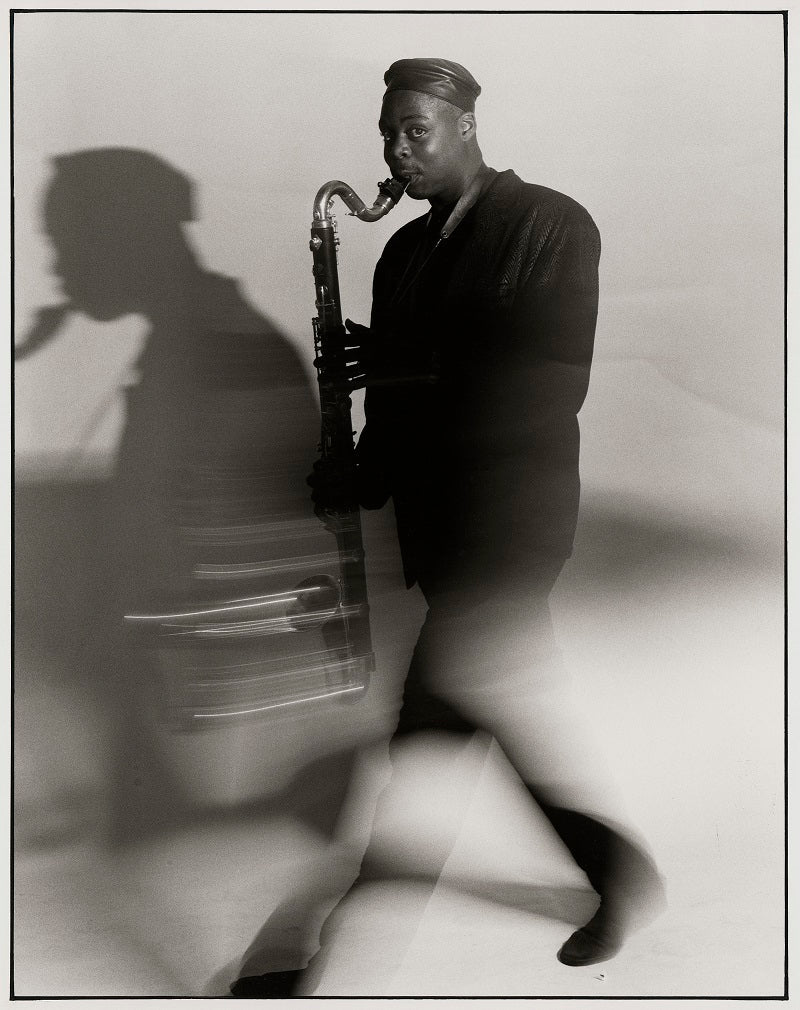 Courtney Pine NPG x126762 Portrait Print