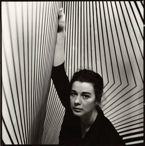 Bridget Riley NPG x127158 Portrait Print