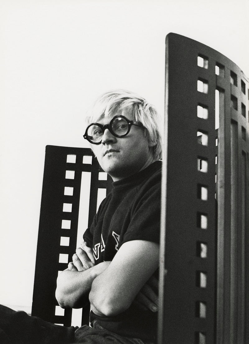 David Hockney NPG x127780 Portrait Print