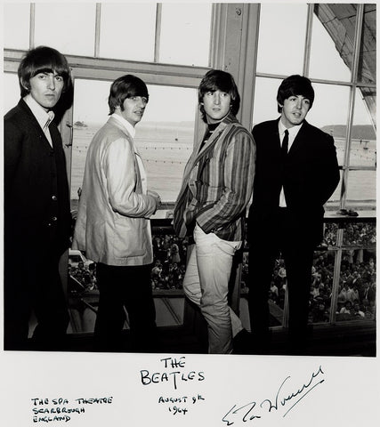 The Beatles (George Harrison; Ringo Starr; John Lennon; Paul McCartney) NPG x132222 Portrait Print