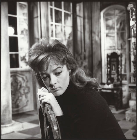 Maggie Smith on the set of 'The Rehearsal' NPG x132981 Portrait Print