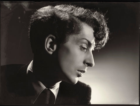 Quentin Crisp Mounted Print
