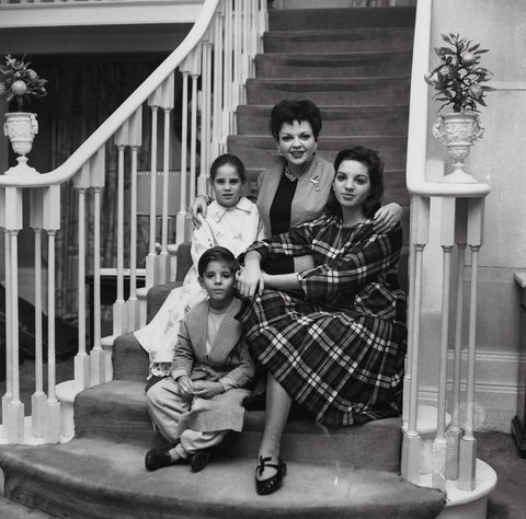 Judy Garland; Liza Minnelli; Lorna Luft and Joey Luft NPG x136363 Portrait Print