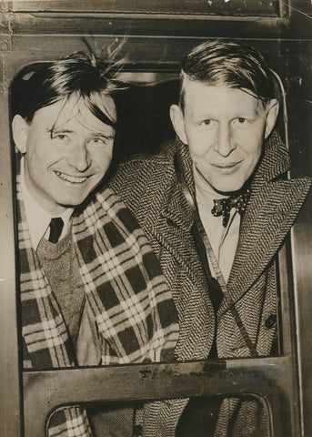 Christopher Isherwood; W.H. Auden NPG x137621 Portrait Print