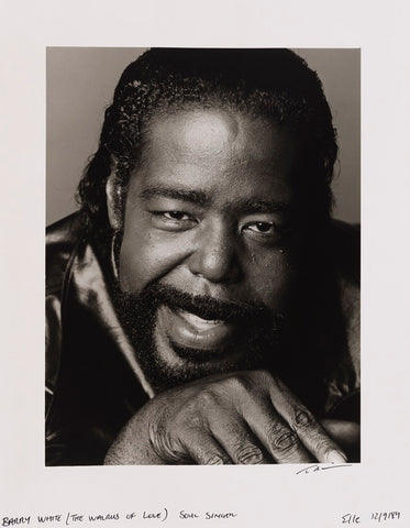 Barry White NPG x139558 Portrait Print