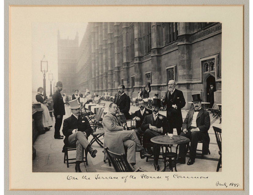 'On the Terrace of the House of Commons' NPG x32626 Portrait Print