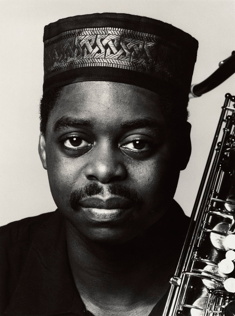 Courtney Pine NPG x35749 Portrait Print