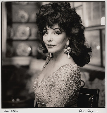 Joan Collins NPG x47272 Portrait Print