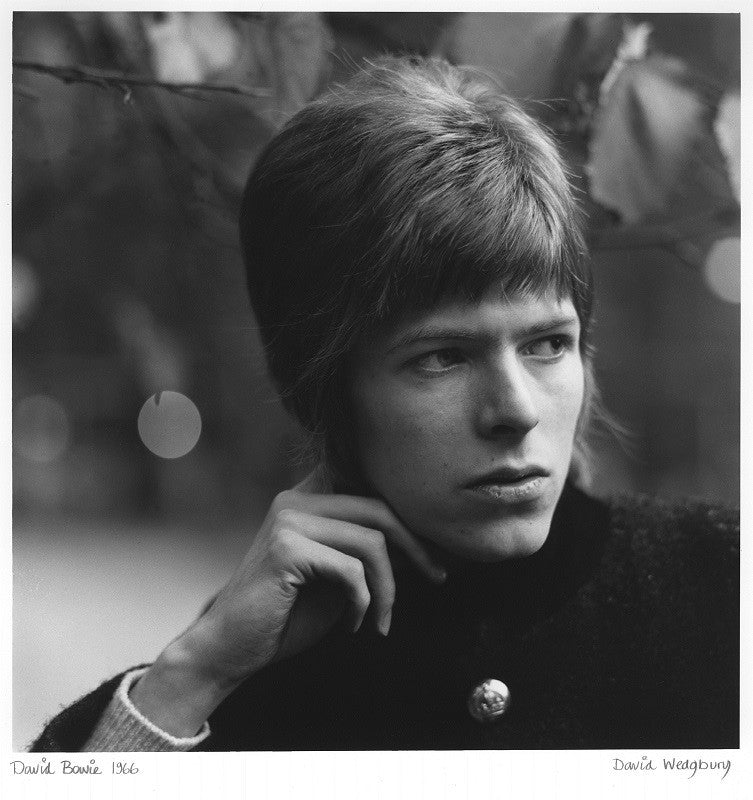 David Bowie Mounted Print
