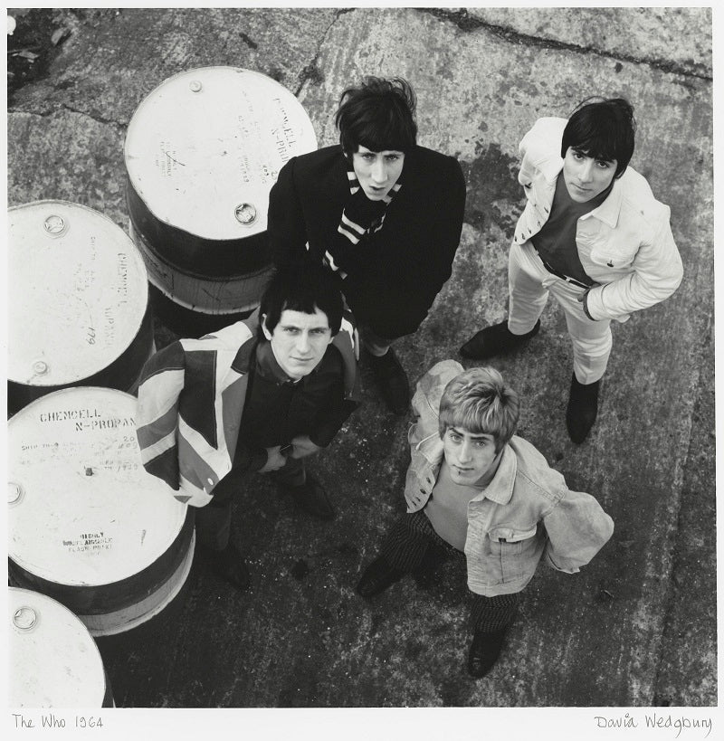 The Who (Pete Townshend; Keith Moon; Roger Daltrey; John Entwistle) NPG x47360 Portrait Print