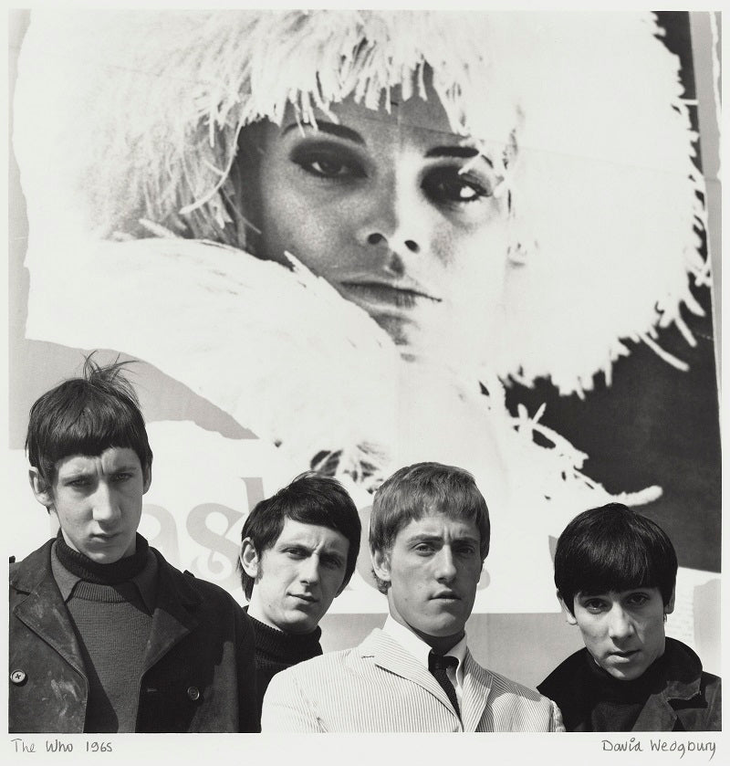 The Who (Pete Townshend; John Entwistle; Roger Daltrey; Keith Moon) NPG x47361 Portrait Print