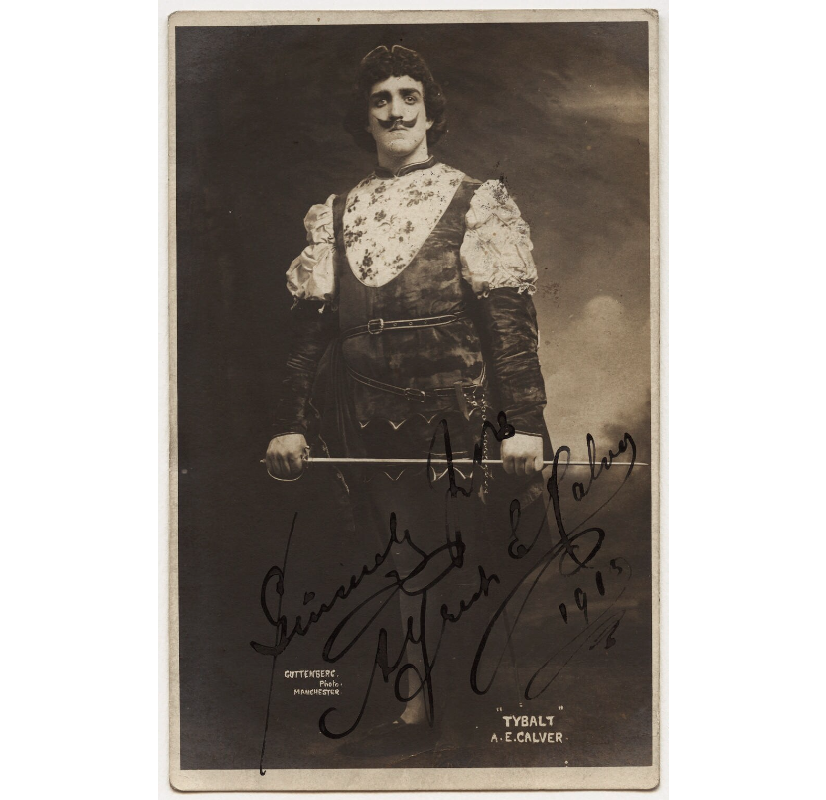 Alfred E. Calver as Tybalt in 'Romeo and Juliet' NPG x5015 Portrait Print