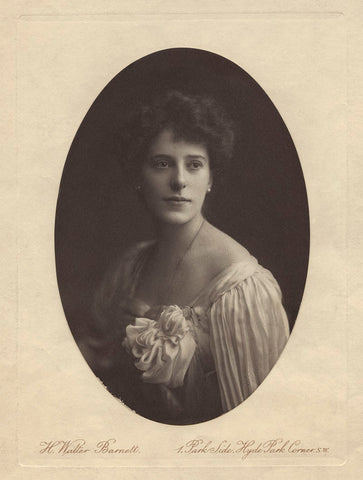 Rachel Beer (née Sassoon) NPG x68859 Portrait Print